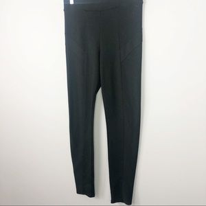 PINK Victoria's Secret Pants - Victoria's Secret Pink | Solid Black Moto Leggings